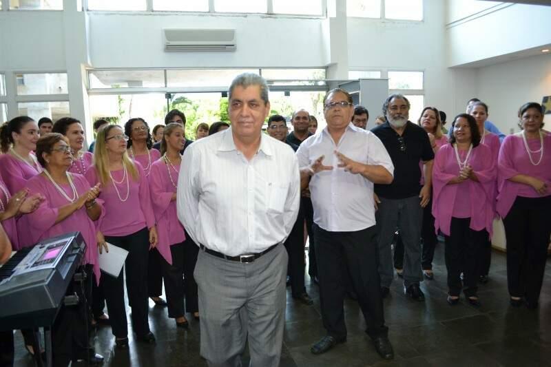 Governador destaca a união dos servidores nos trabalho do governo estadual (Foto: Pedro Peralta)