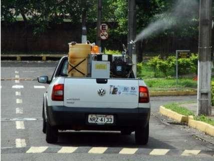 Equipes de combate à dengue vão a nove bairros com fumacê nesta quarta-feira