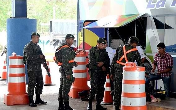 A operação começou ontem e não tem data para terminar. (Foto: Anderson Gallo/Diário Corumbaense)