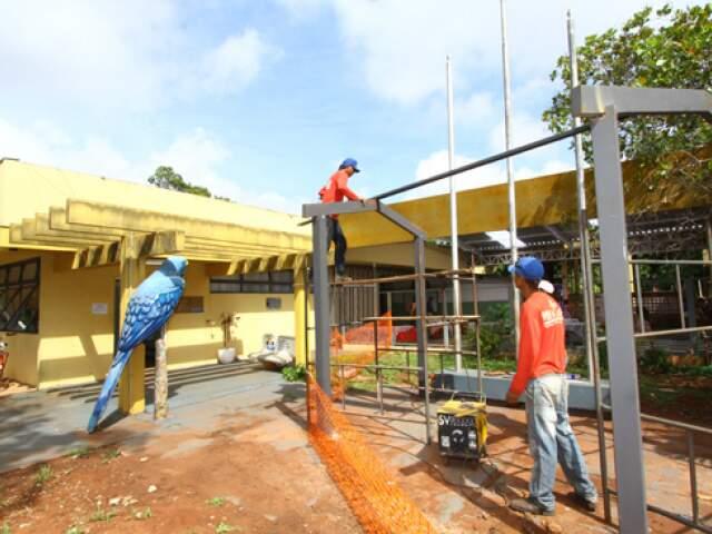 Reforma foi autorizada após as chuvas que danificaram as estruturas de salas de aula.(Foto: Edemir Rodrigues)