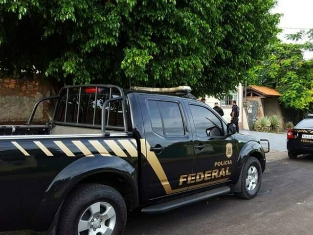 PF durante cumprimento de mandado em Ladário 9Foto: divulgação / PF)