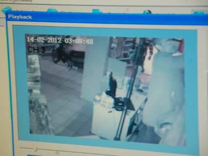 Mais um caixa eletrônico vira alvo de bandidos em Campo Grande