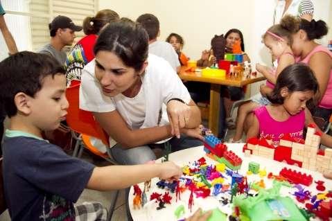 Cempe oferece oficinas para crianças com distúrbios de comportamento