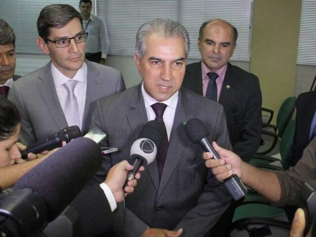 Reinaldo vai se reunir amanhã com a bancada federal, em Brasília (Foto: Chico Ribeiro - Assessoria)