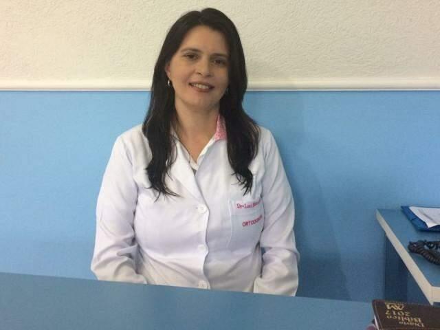 A dentista se diz uma mulher realizada, na missão de levar atendimento humanizado aos pacientes.
