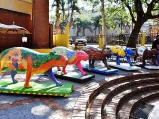 Esculturas vão a leilão depois da curta estadia pelas ruas da Capital