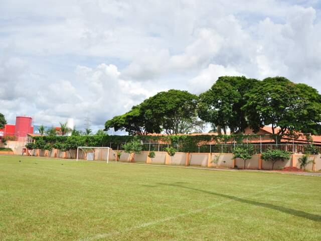 Centro de Convivência Vovó Ziza vai receber representantes da Fifa esta tarde. (Foto: João Garrigó)