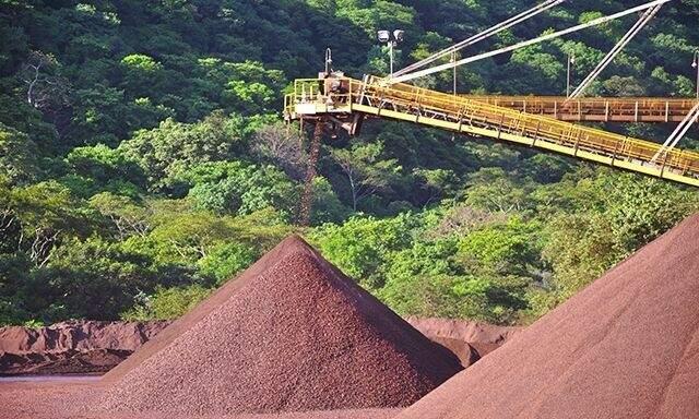 Corumbá sedia maiores usinas de minério de MS (Foto: Tudo MS)