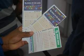Hoje tem sorteios da Mega-Sena, Quina de São João e Lotofácil. (Foto: Adriano Fernandes)