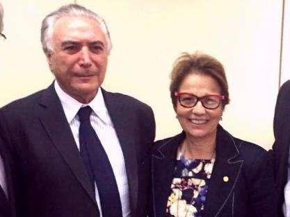 Deputada do MS aceita convite para ser vice-líder do governo Temer