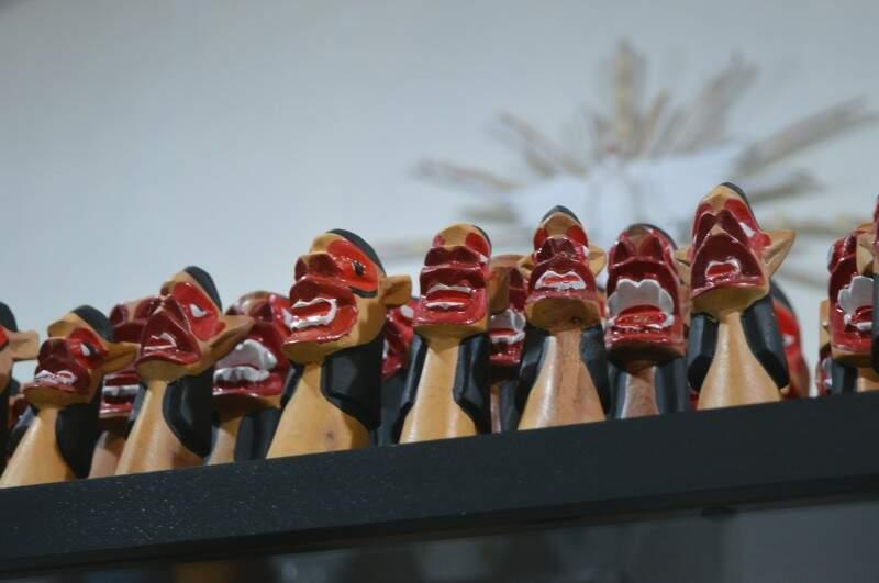 As carrancas não deixam que os maus agouros entrem (Foto: Naiane Mesquita)