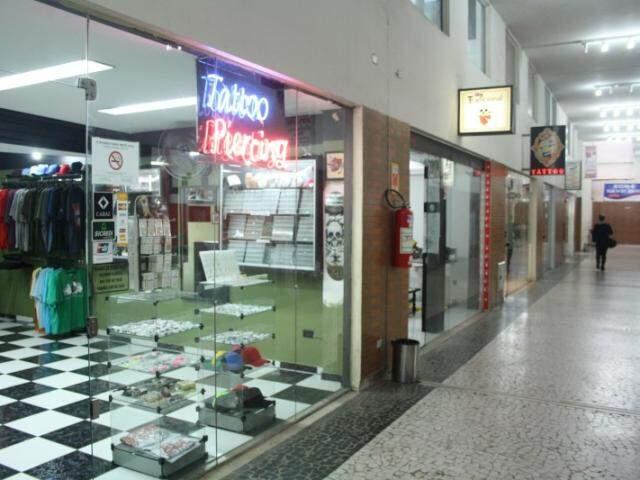 Galeria fica entre a avenida Afonso Pena e a rua 14 de Julho (Foto: Marcos Ermínio)