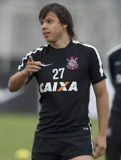 O paraguaio Romero terá sua quarta chance seguida como titular no ataque do Corinthians (Foto: Agência Corinthians)