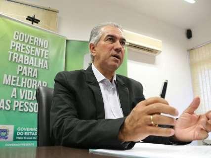 Reinaldo propõe fechar a fronteira contra tráfico de drogas e armas
