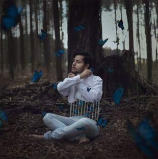 Reflexão rendeu fotos encantadoras. (Foto: Matheus Ribeiro)