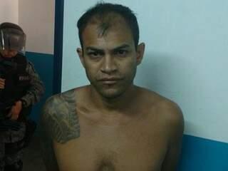"""João Luiz Moraes de Souza, o """"Dimas"""", 34 anos (Foto: Divulgação/ Polícia Civil)"""