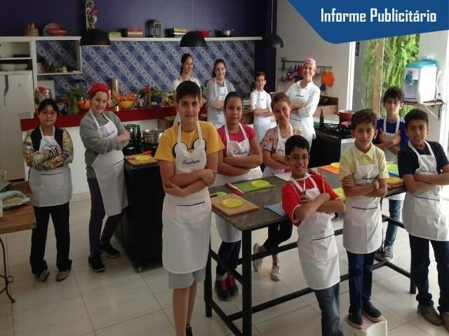 Turma Chef Junior - Foto Divulgação
