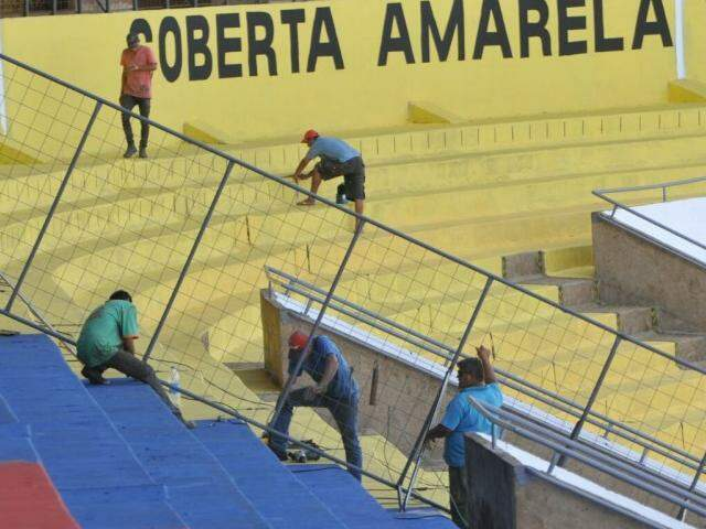 Morenão passou por repares e será reaberto neste domingo com capacidade para 10 mil torcedores (Foto:Arquivo)