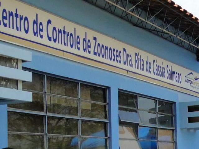Prédio do Centro de Controle de Zoonoses, na Capital (Foto: Divulgação/PMCG)