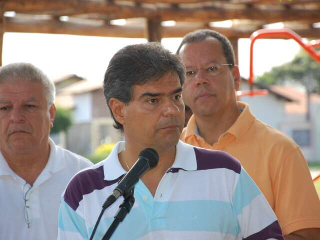 Partido de Trad, atual prefeito, vai usar pesquisa para escolher candidato na Capital. (Foto: Pedro Peralta)