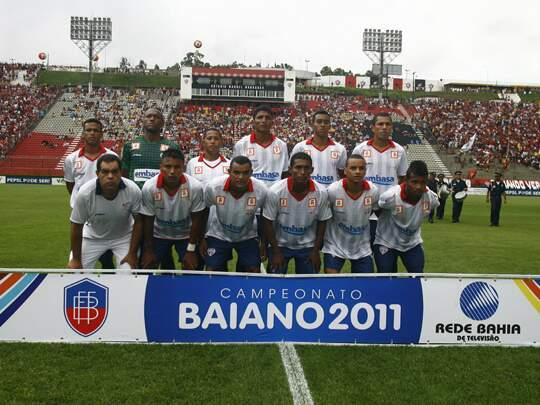 Bahia de Feira de Santana foi o campeão baiano em 2011. (Foto: Divulgação)