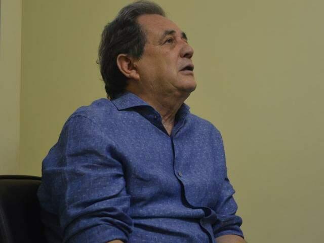 Senador Waldemir Moka (PMDB-MS) (Foto: Samuel Isidoro / Arquivo)