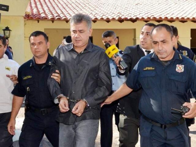 Jarvis Pavão deve ser extraditado para o Brasil em dezembro deste ano (Foto: ABC Color)
