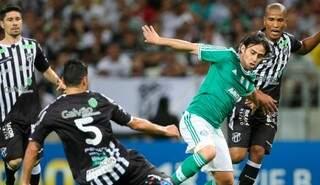 Palmeiras e Ceará, se enfrentam no sábado (23), às 16h20 (de MS) no Morenão