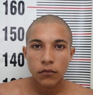 Jovem é suspeito de participar de sequestro. Foto: Divulgação PC