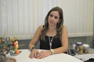A diretora Priscila Rodrigues de Souza disse que a decisão de não aderir à paralisação foi democrática e a maioria venceu no voto. (Foto: Marcelo Calazans)
