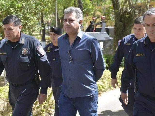 Jarvis Pavão conclui hoje a pena de oito anos de prisão no Paraguai, mas habeas corpus impede extradição (Foto: ABC Color)