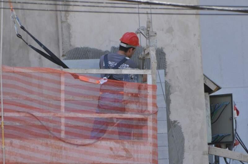 O PIB estadual é composto 60,09% pelos Serviços, 22,16% pela Indústria e 17,75% referente ao agronegócio. (Foto: Alcides Neto)