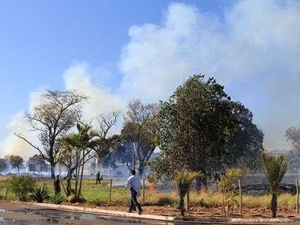 Com 35 dias sem chuva, bombeiros apagam 13 queimadas por dia