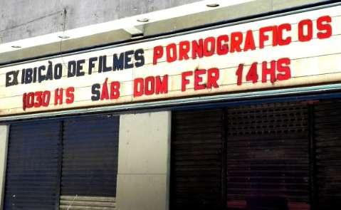Um matuto sul-mato-grossense resolve conhecer o cinema pornô carioca