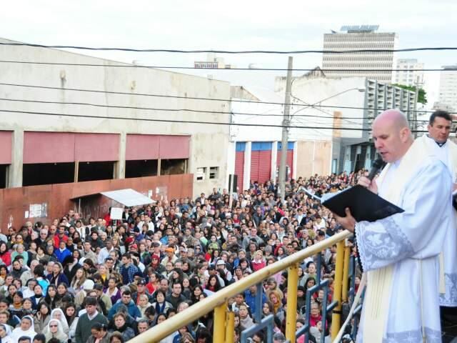 Católicos representam 59% da população do Estado. (Foto: Rodrigo Pazinato)