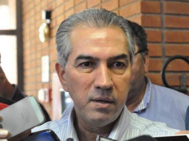 Governador Reinaldo Azambuja, que visita a Bolívia na sexta-feira (Arquivo)