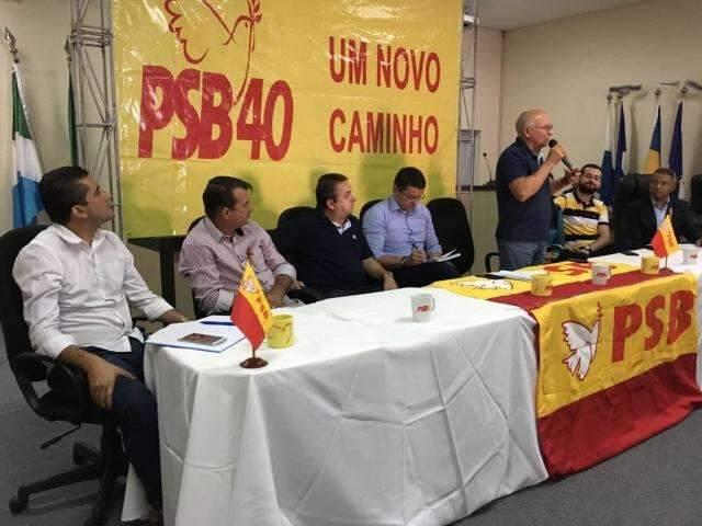 """Partidos escolhem o 4 de agosto como o """"Dia D"""" das convenções em MS"""