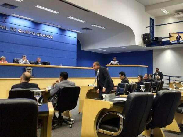 Movimentação no plenário da Casa de Leis (Foto: Christiane Reis)