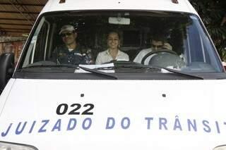 Em 10 meses, juizado de trânsito atendeu 3.641 acidentes em 2013 (Foto: Cleber Gellio)