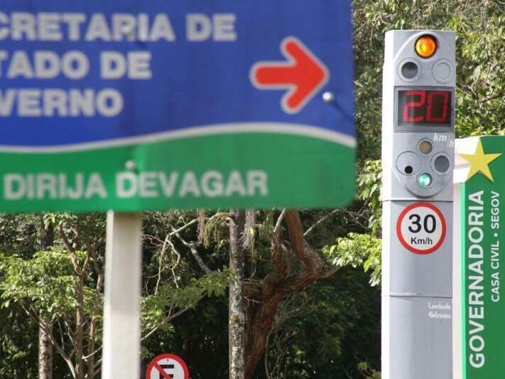 Visor voltou a mostrar velocidades dentro do 'normal' (Foto: Marcos Ermínio)