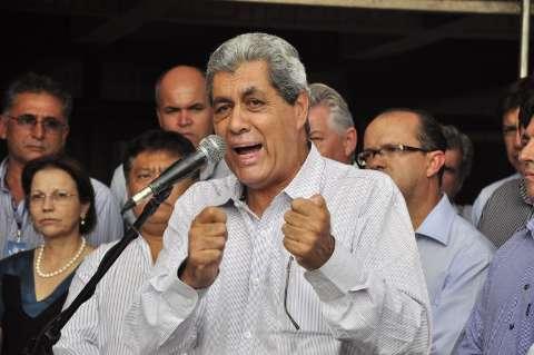 André faz agradecimento público a Dilma pelo avanço do saneamento em MS