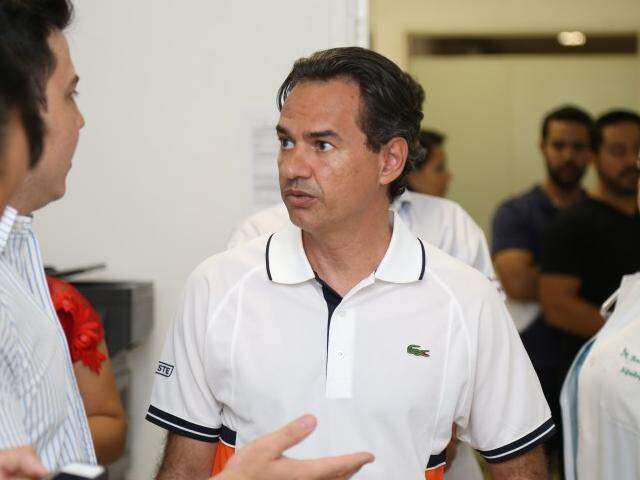Prefeito de Campo Grande, Marquinhos Trad (PSD). (Foto: Marcos Ermínio/Arquivo).