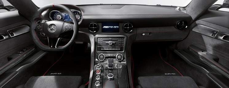 Mercedes-Benz SLS AMG Coupé Black Series chega no Brasil