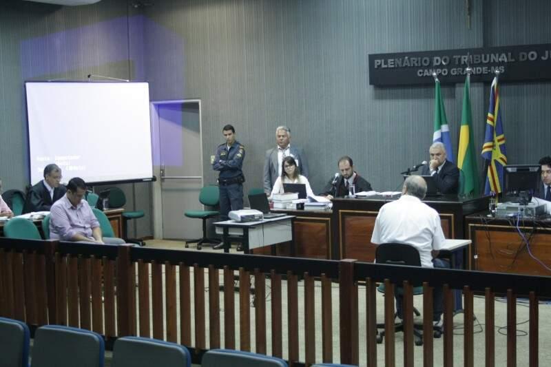 Evandro foi condenado a 20 anos de reclusão em regime fechado (Foto: Marcos Ermínio)