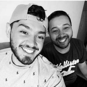 """Rafael e Júnior Nantes """"de cara limpa""""."""