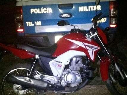 Homem leva tiro na boca e tem motocicleta roubada em assalto