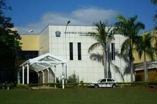 Sede do MPE-MS, em Campo Grande. (Foto: Arquivo)