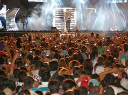Projeto acústico para shows na Expogrande foi reprovado pela Semadur