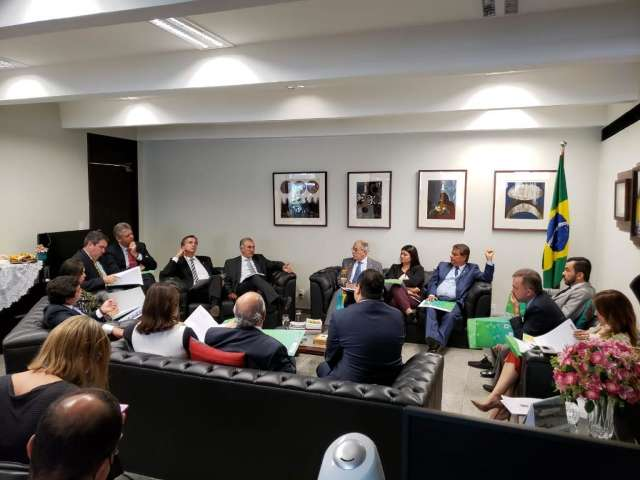 Bancada federal de MS escolhe Nelsinho como líder em Brasília