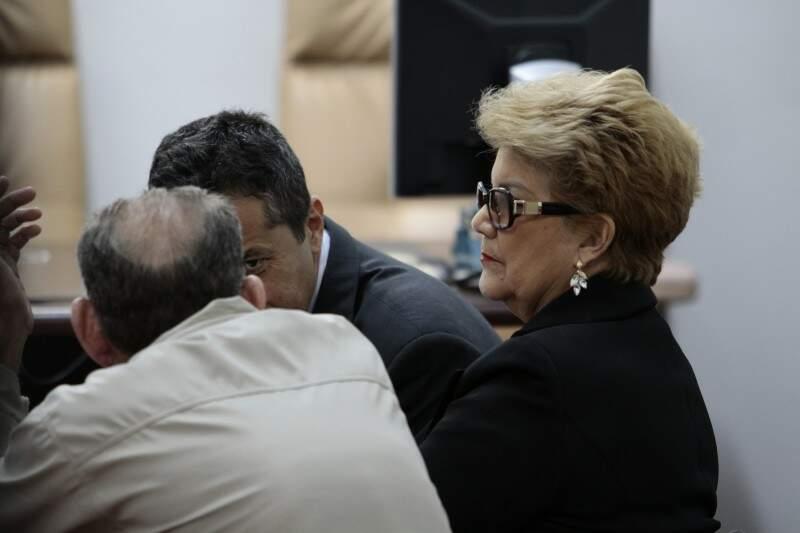 A prefeita de Miranda, Marlene Bossay, entrou na Justiça com pedido de reintegração de posse (Foto: Cleber Gellio)